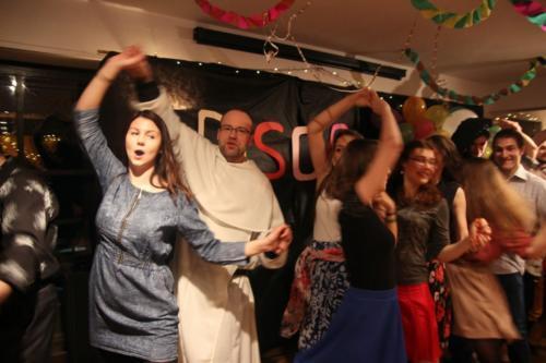 Disco w polu - impreza karnawałowa 2015