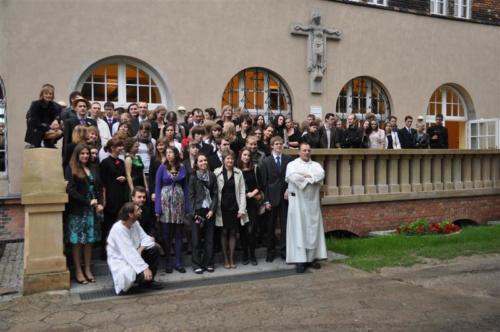 Zakończenie roku akademickiego 2011