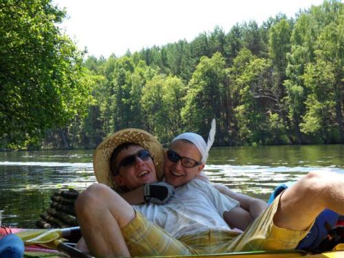 Kajaki 2010 i spływ Brdą