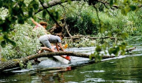 Kajaki 2007 - spływ Brdą